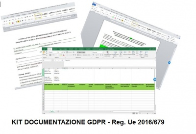 KIT Documentazione GDPR