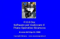POS DOC - software piano operativo sicurezza