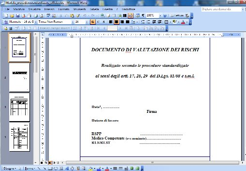 Modelli dvr in ms word for Esempio preventivo ristrutturazione bagno