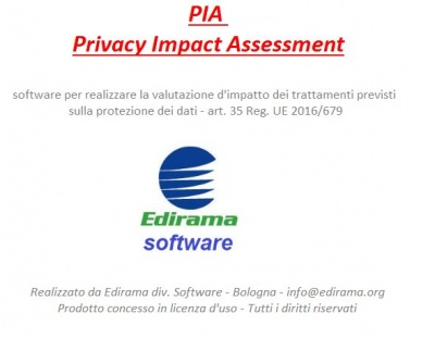 SOFTWARE P.I.A. PRIVACY IMPACT ASSESSMENT