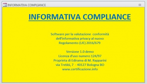 Software Informativa Compliance